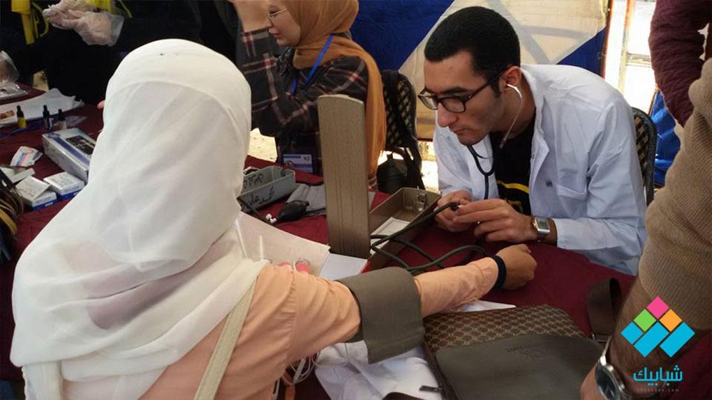 كشوفات طبية وفقرات ترفيهية في خيمة أنشطة فريق « ألتراس بروتوزوا» بأسنان المنصورة