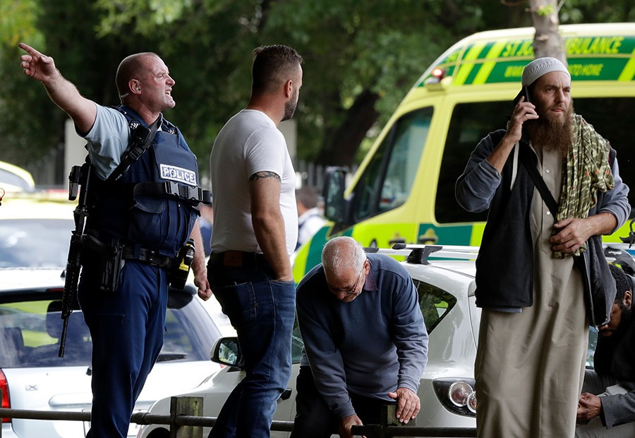 نيوزيلندا: مقتل 49 شخصا في هجوم إرهابي على مسجدين جنوب البلاد