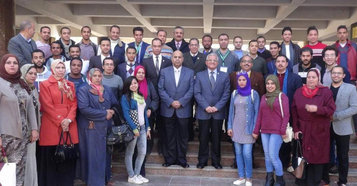 بالتزكية.. خالد رشاد رئيسا لاتحاد طلاب جامعة المنيا