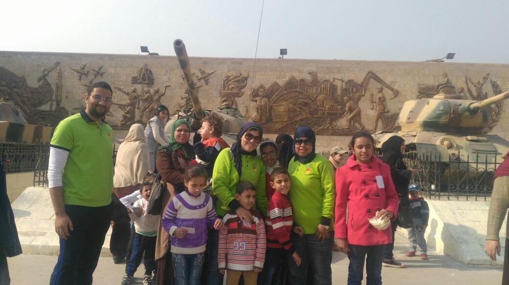 جامعة عين شمس تنظم رحلات للأطفال ذوي الاحتياجات الخاصة «صور»
