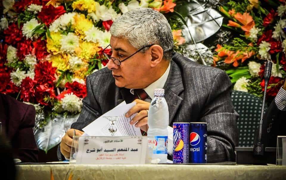 عبدالمنعم أبو شرخ عميدا لكلية الطب جامعة الزقازيق