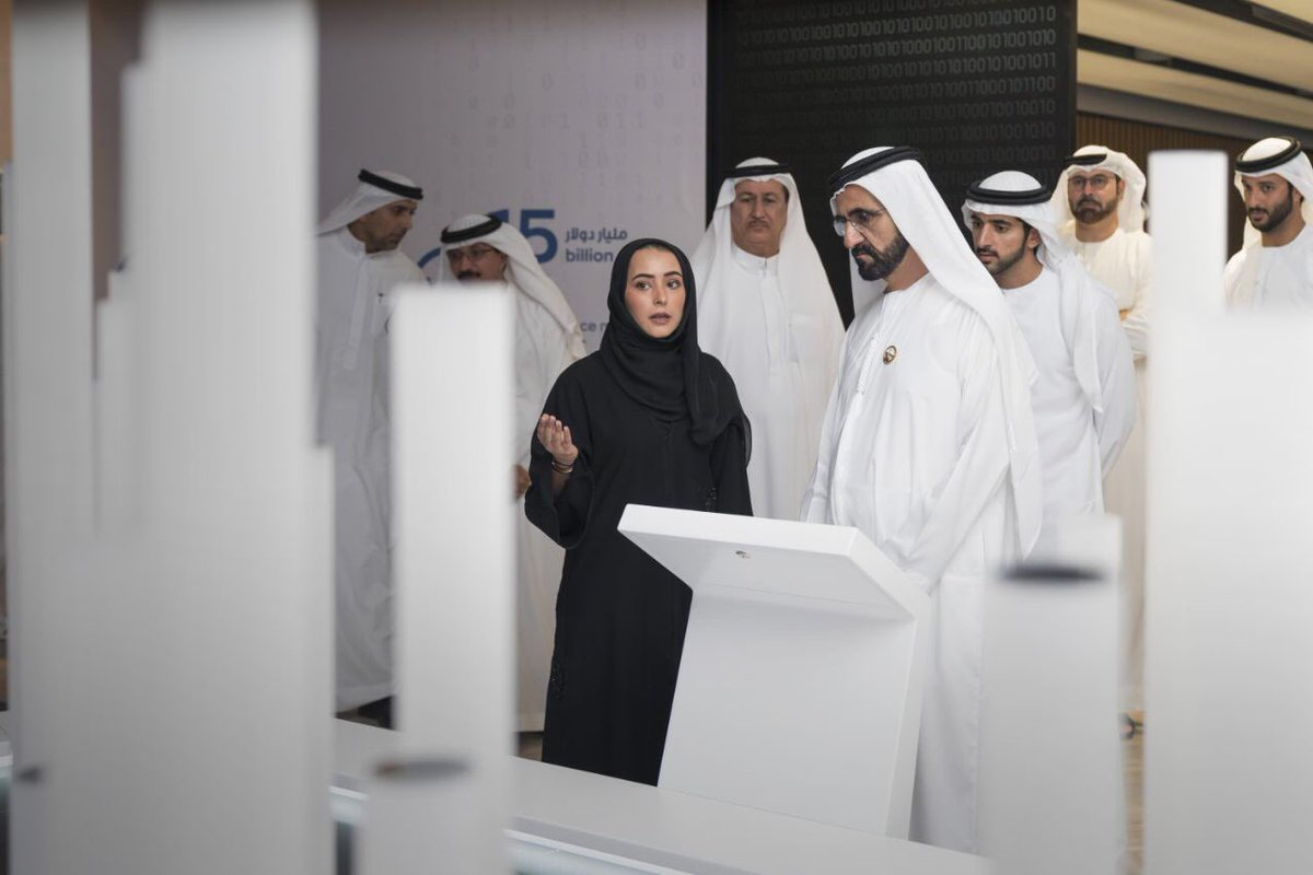 محمد بن راشد آل مكتوم يدشن لمبادرة مليون مبرمج عربي