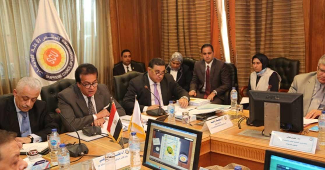 وزير التعليم العالي: الجامعات المصرية تستوعب جميع طلاب الثانوية