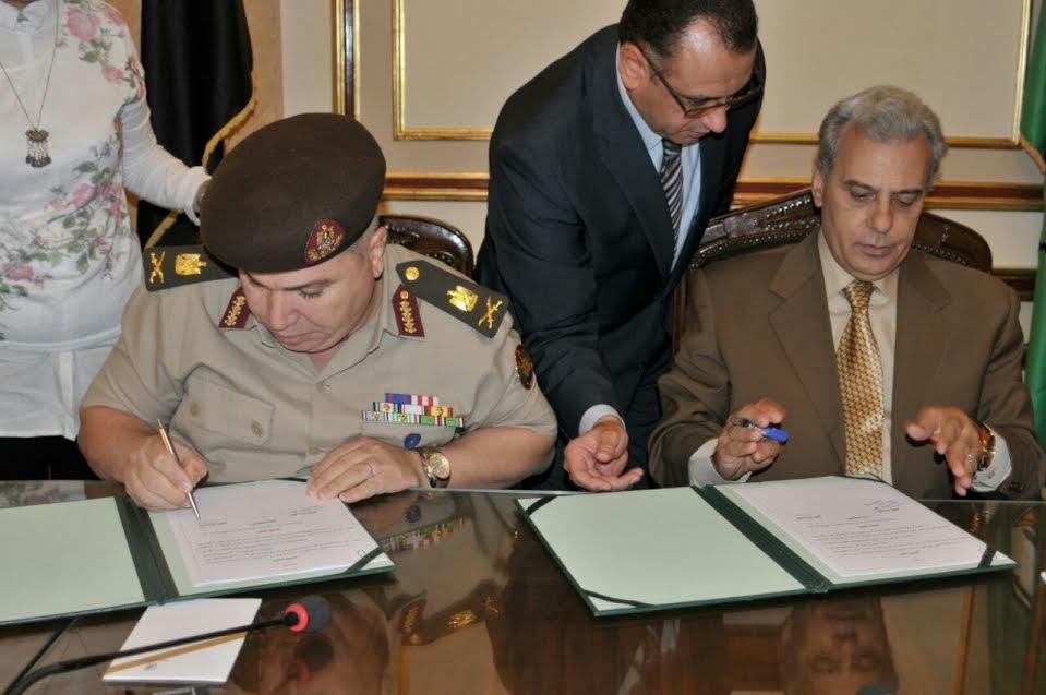 اتفاقية بين جامعة القاهرة والقوات المسلحة بمجال استخدام الحيوانات في البحوث