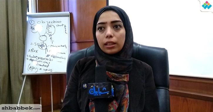 أحلام وليد تتحدث عن دور اتحاد الطلاب بعد انتخابها بجامعة دمياط (فيديو)