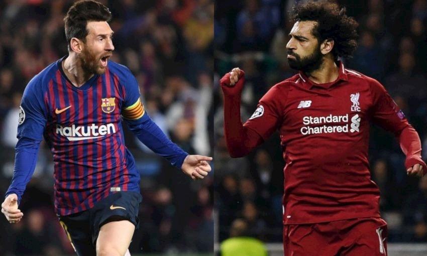 شاهد هدف «ميسي» العالمي في مرمى ليفربول بدوري أبطال أوروبا