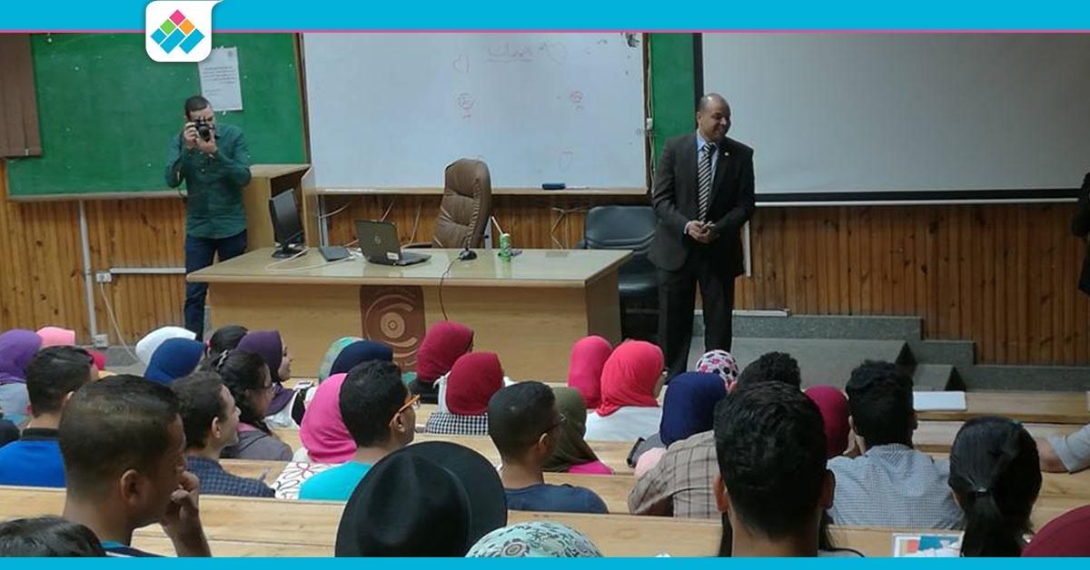«أسرار النجاح».. ندوة تنمية بشرية بإعلام القاهرة (صور)