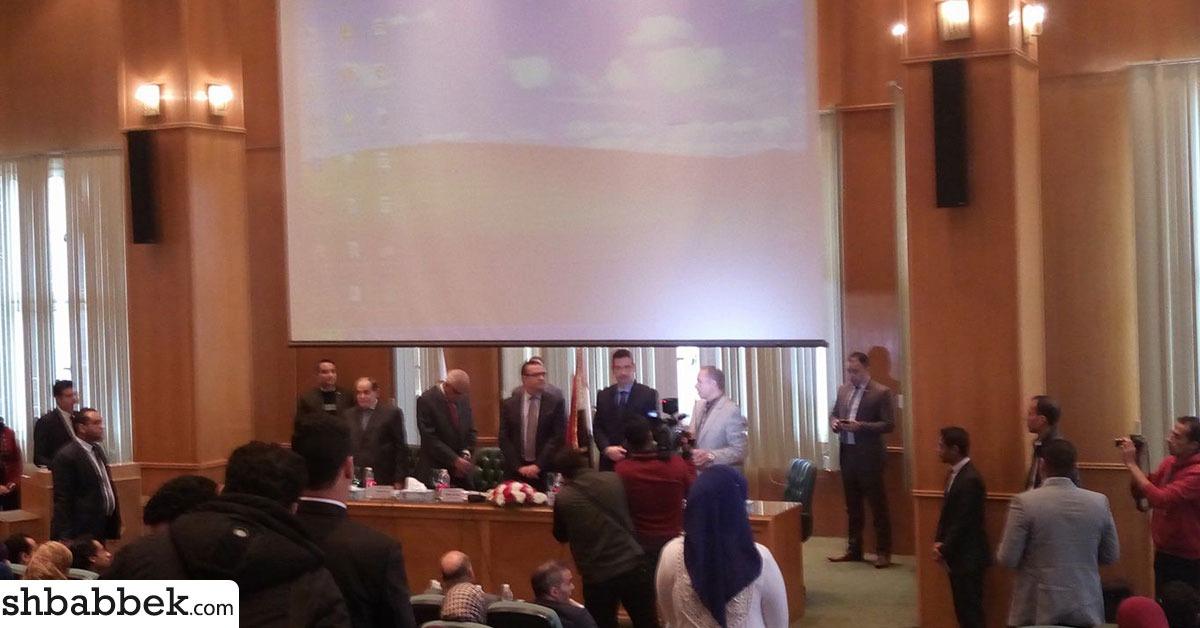 قيادات جامعة المنصورة توجه الطلاب للمشاركة في انتخابات الرئاسة: «فرصه لا تضيعوها»