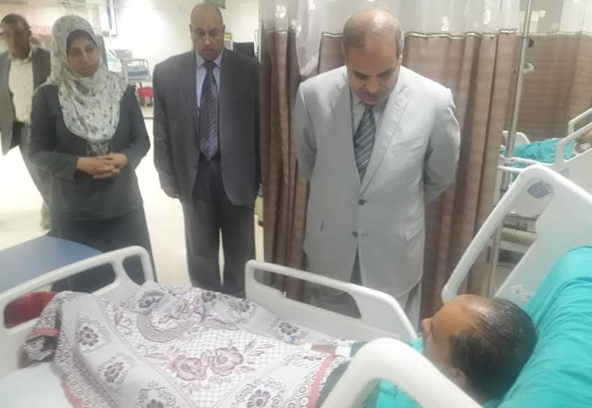 رئيس جامعة الأزهر يتفقد مستشفى الزهراء