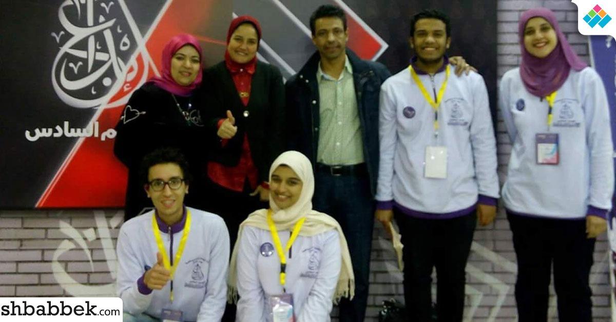 جامعه القاهرة تفوز بالمركز الأول في الدورى الثقافي بمسابقة إبداع 6 (صور)