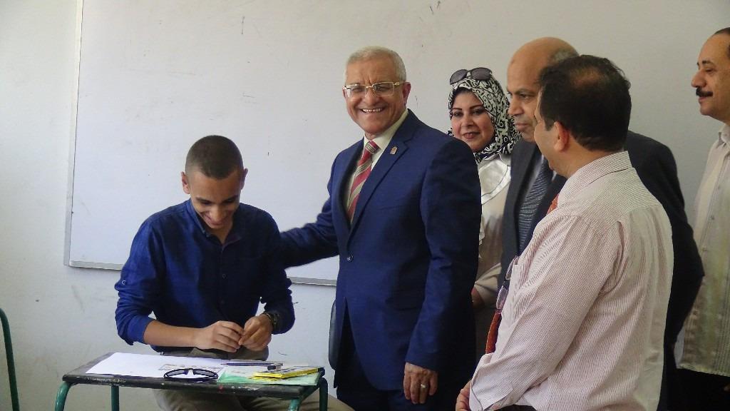 1505 طالبا تقدموا لاختبارات القدرات بجامعة المنيا