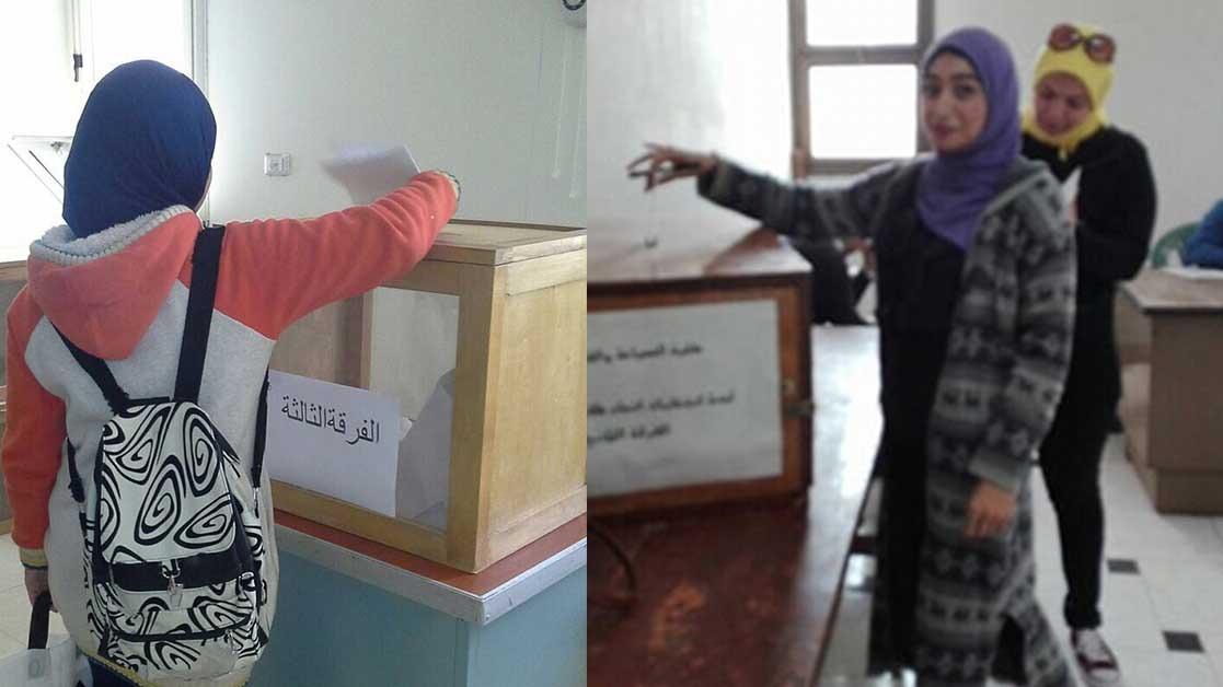 5 كليات تنتظر نتيجة الإعادة في انتخابات الاتحاد بجامعة المنيا