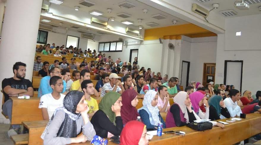 يوم تعريفي للطلاب الجدد بكلية الحاسبات جامعة عين شمس