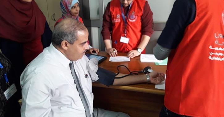 رئيس جامعة الأزهر يشارك في حملة «100 مليون صحة»