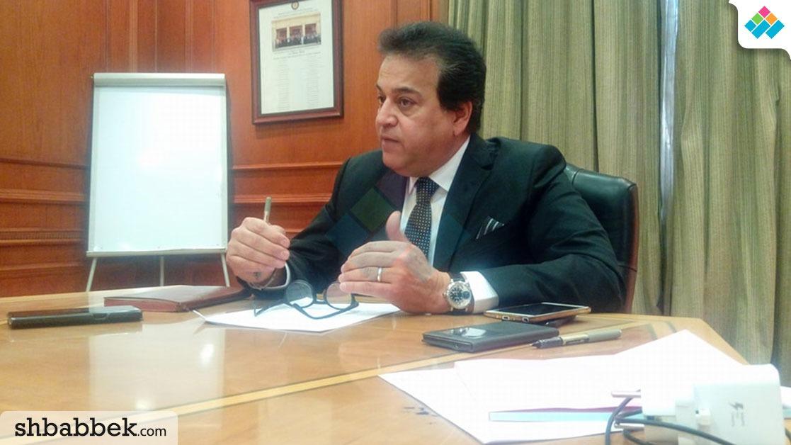 وزير التعليم العالي: الدعاية الانتخابية لمرشحي الرئاسة محظورة بالجامعات