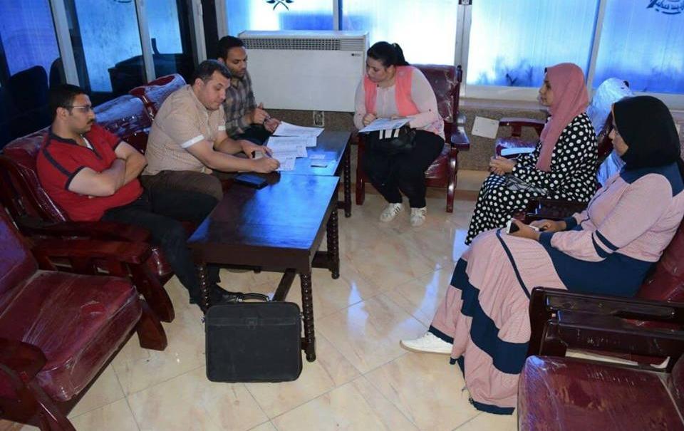 فوز كلية التجارة جامعة طنطا بالمركز الأول في مسابقة التميز بين مكتبات الجامعة