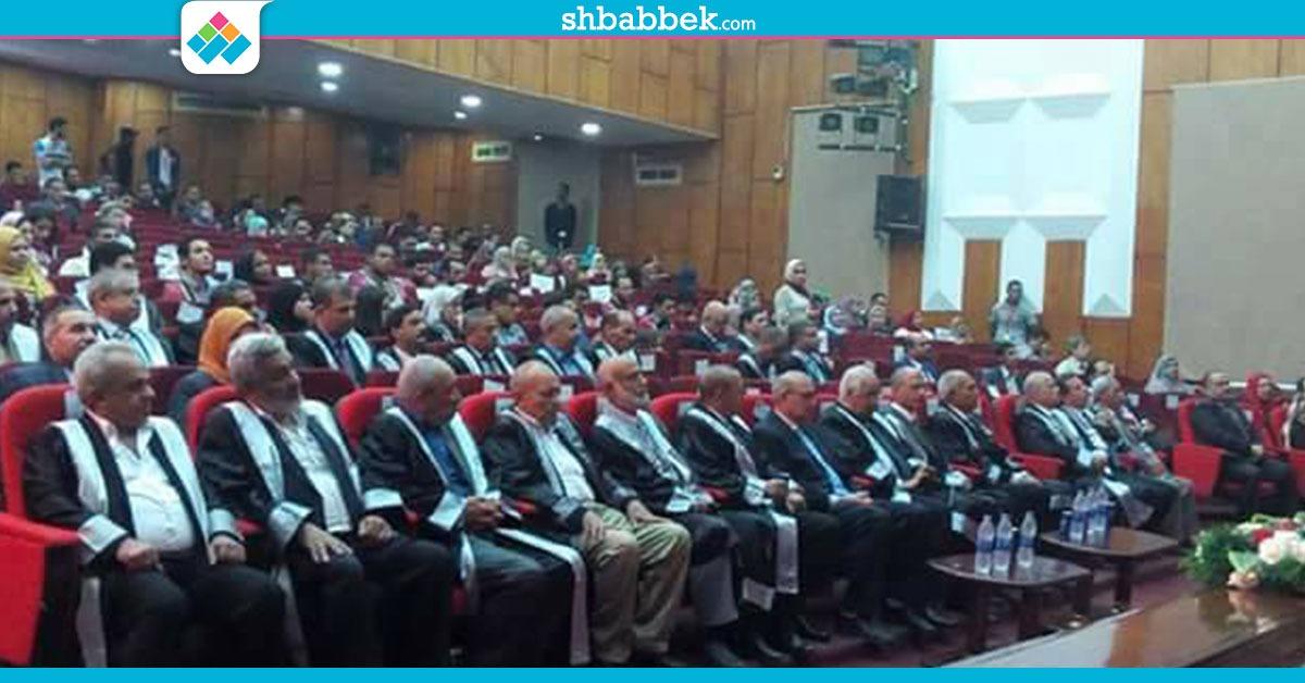 رئيس جامعة الفيوم يشهد احتفالية «اليوبيل الفضي» لكلية الهندسة