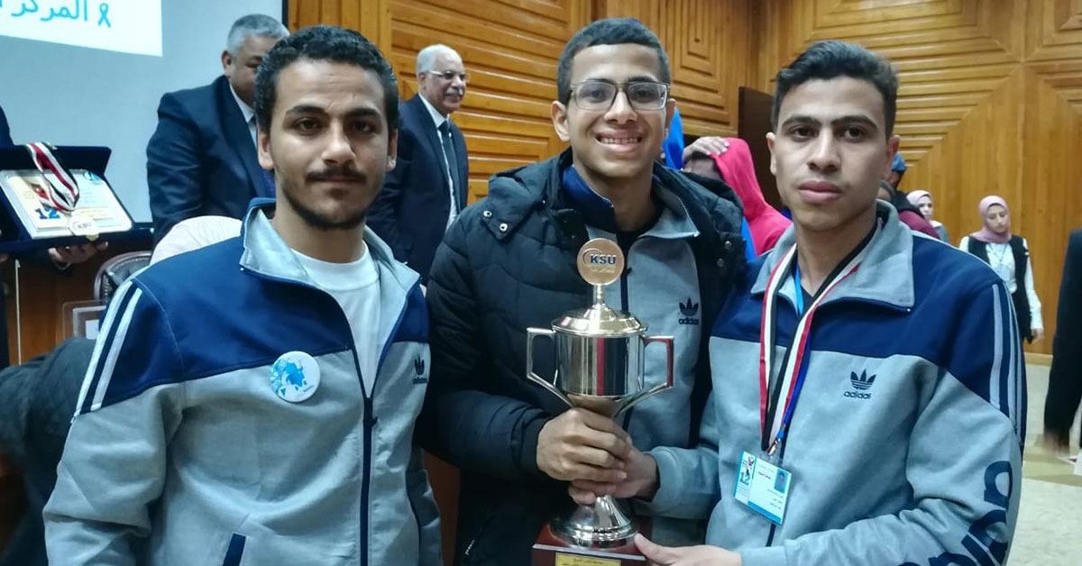 جامعة أسيوط تفوز بالمركز الثاني في مسابقة المجلة العلمية بأسبوع شباب الجامعات