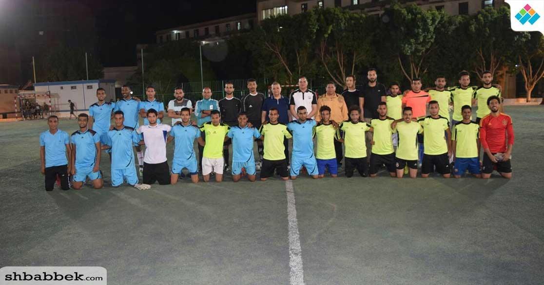 كلية التربية الرياضية تفوز بكأس بطولة كرم القدم بجامعة سوهاج