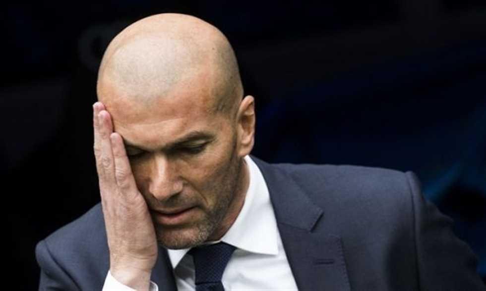 زيدان يعلن استقالته من تدريب ريال مدريد