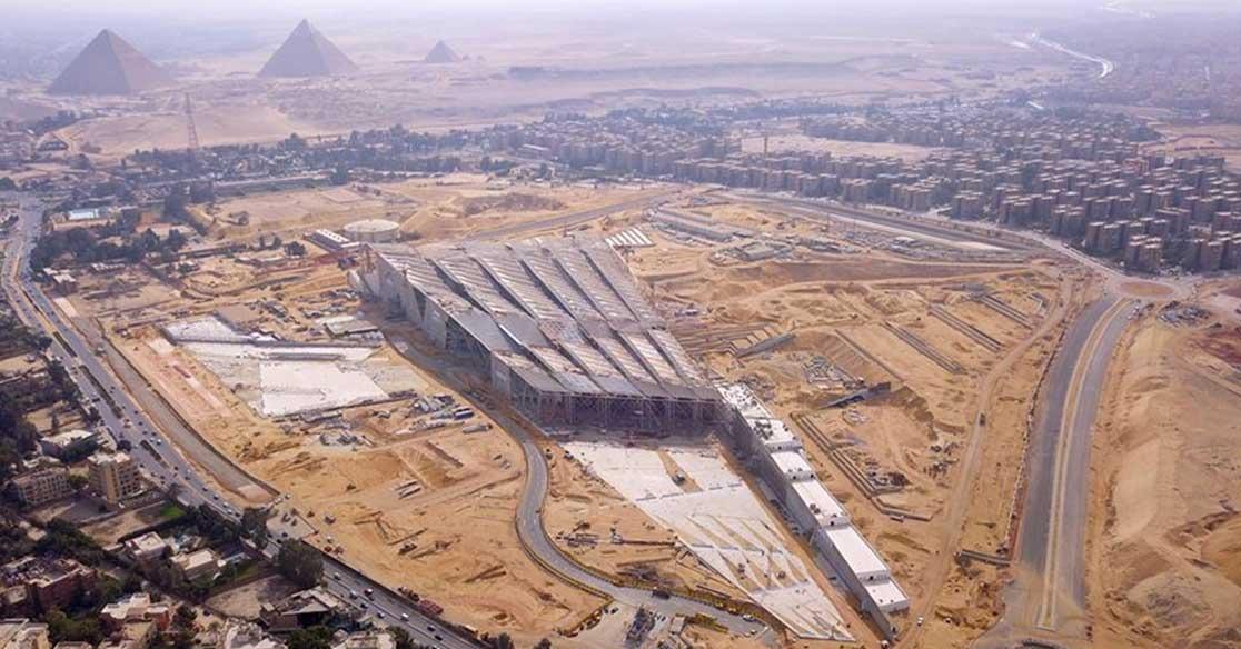 جدل حول شعار المتحف المصري الكبير.. ردود الأفعال ستصدمك