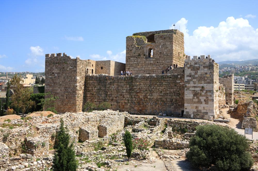 قلعة في جبيل لبنان