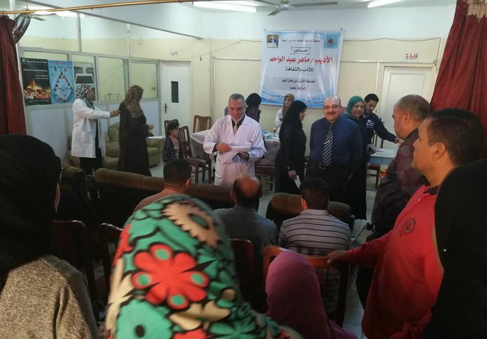 «طب المنصورة» تنظم قافلة لعلاج 306 حالة بالدقهلية