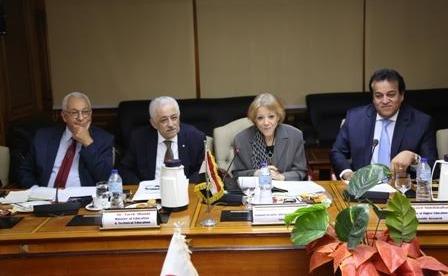 وزيرا التعليم والتعليم العالي يرأسان لجنة المبادرة المصرية اليابانية