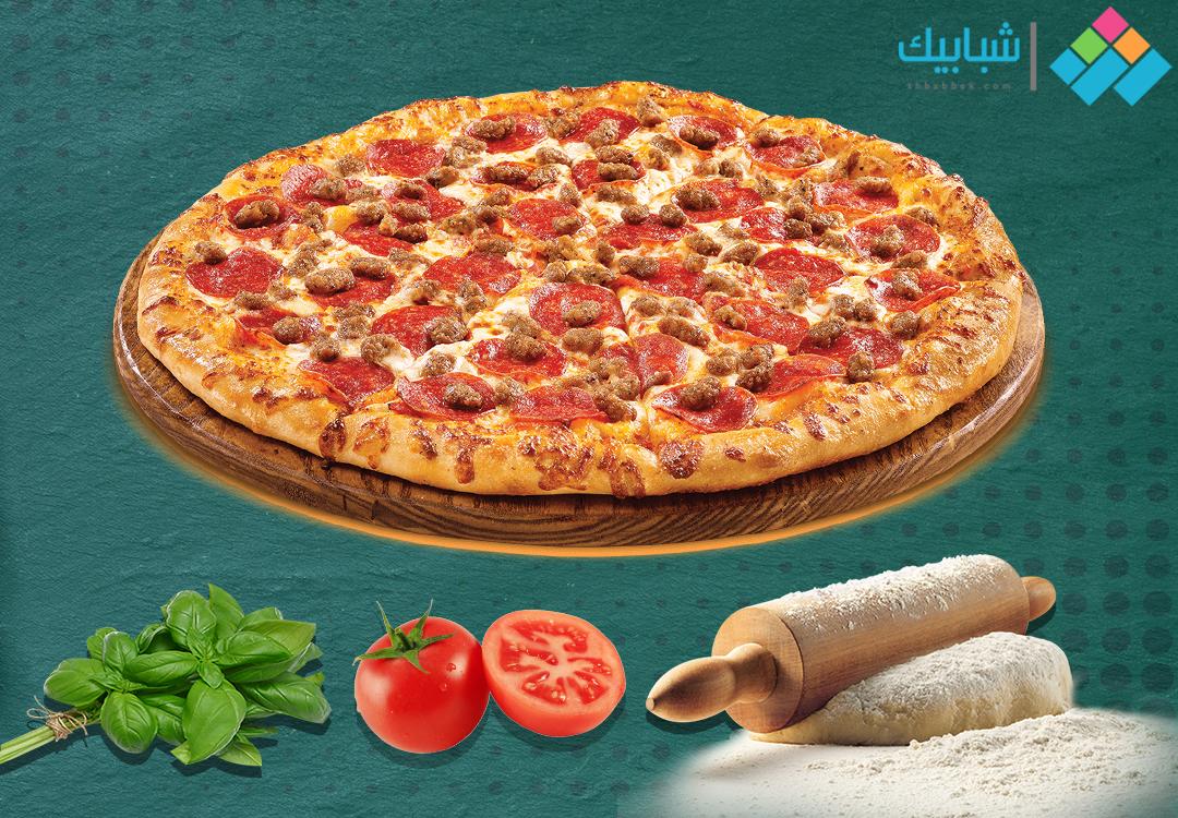 طريقة عمل البيتزا باحترافية.. «سهلة ولذيذة»