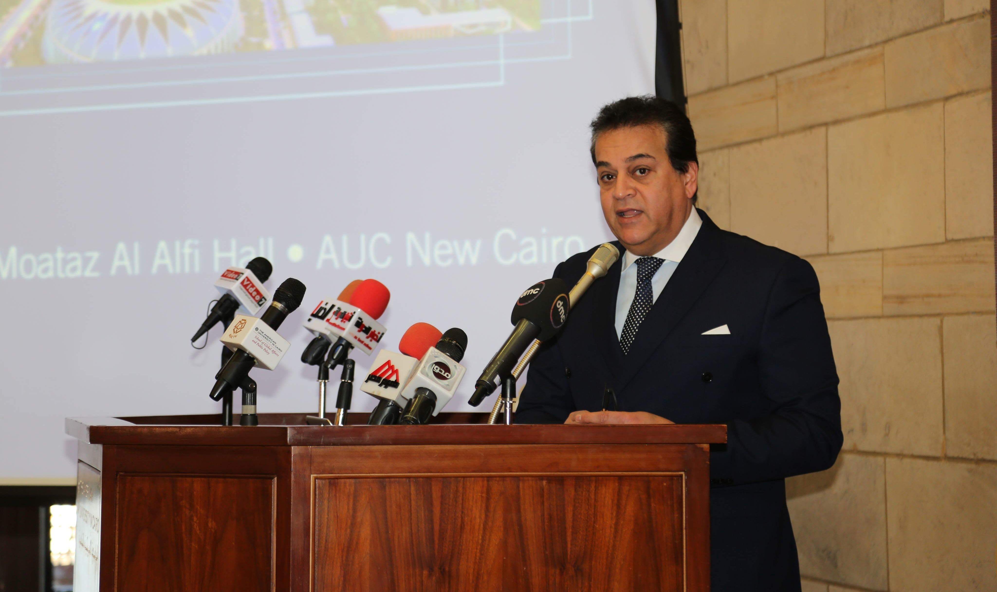 وزير التعليم العالي يتحدث عن تغيير تنسيق الجامعات
