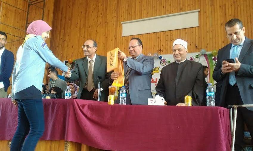 حفل تنصيب اتحاد طلاب كلية الآداب جامعة المنوفية «صور»