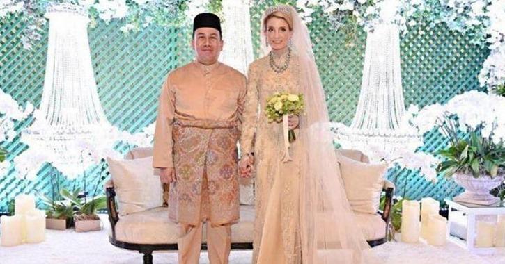 ولي العهد الماليزي يتزوج السويدية صوفي جوهانسون في حفل أسطوري (صور)