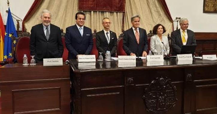 «عبد الغفار» يستعرض رؤية مصر في تطوير التعليم العالي بأسبانيا