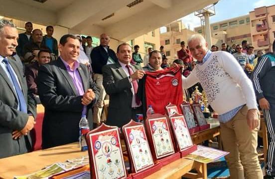 حقوق بني سويف تحصد المركز الأول في دوري كرة القدم الخماسي