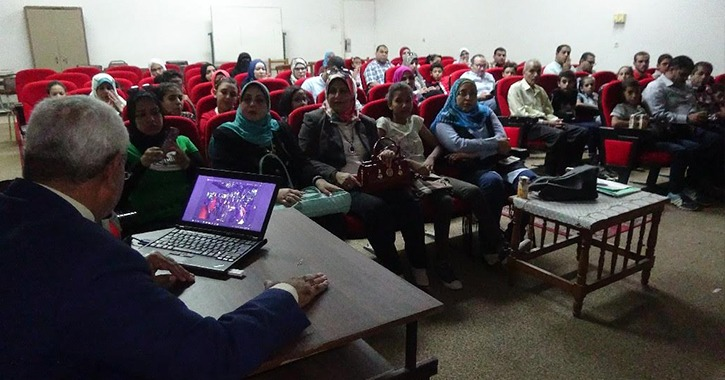 افتتاح الدورة الرابعة بجامعة الطفل في جامعة المنيا بمشاركة 165 طالب
