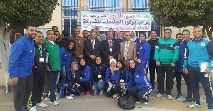 جامعة بنها تحصد 6 ميداليات بأسبوع شباب الجامعات المصرية