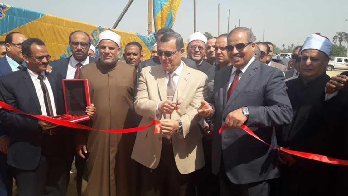 رئيس جامعة الأزهر يفتتح كلية الدراسات الإسلامية بمحافظة الفيوم