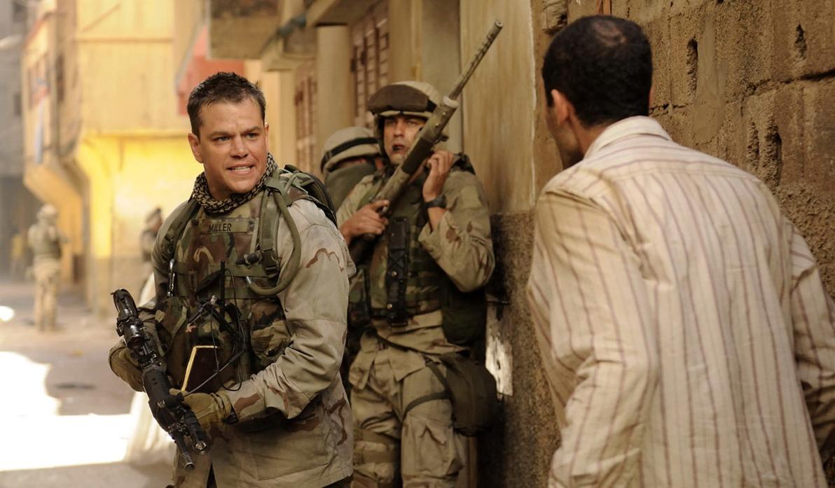 أسرار غزو العراق في فيلم «Green Zone» في سهرة الثلاثاء
