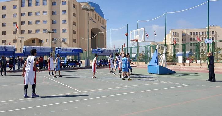3 مباريات رياضية لطلاب عين شمس في أول أيام أسبوع شباب الجامعات