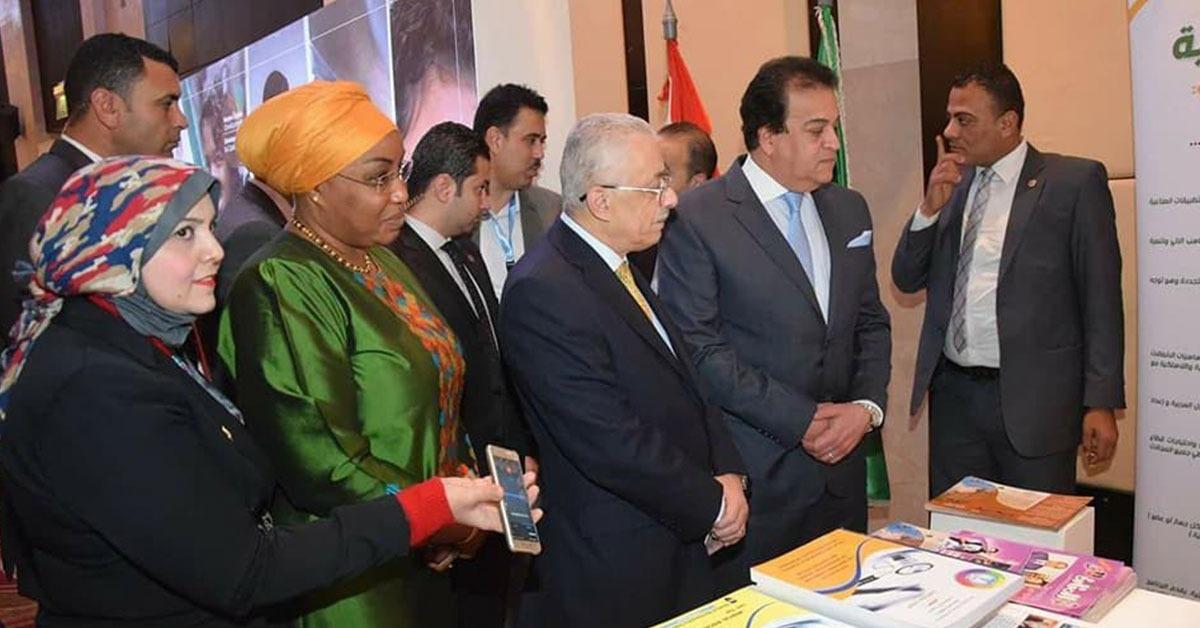 جامعة المنوفية تشارك في معرض العلوم والتكنولوجيا (صور)