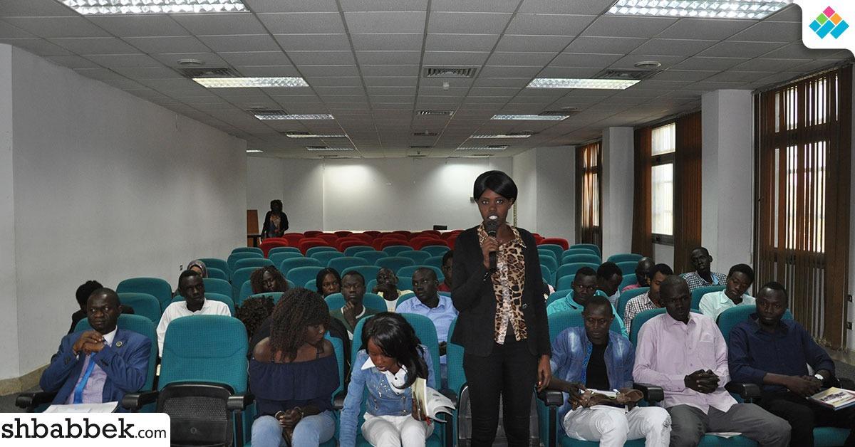 لأول مرة.. مدن جامعة حلوان تفتح أبوابها لطلاب جنوب السودان