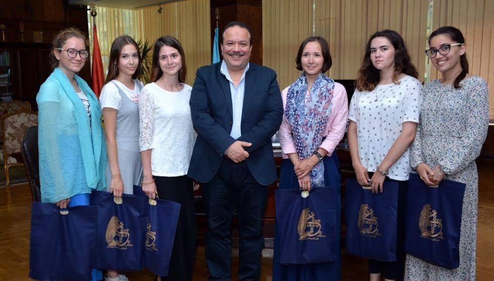 جامعة طنطا: نسعى لافتتاح مركز لتعليم اللغة الروسية