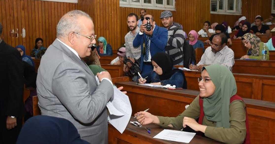 ضبط 33 حالة غش في امتحانات جامعة القاهرة