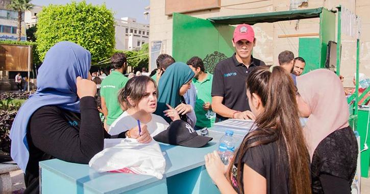 نموذج محاكاة الرئاسة الأمريكية بجامعة القاهرة يستقبل الطلاب الجدد