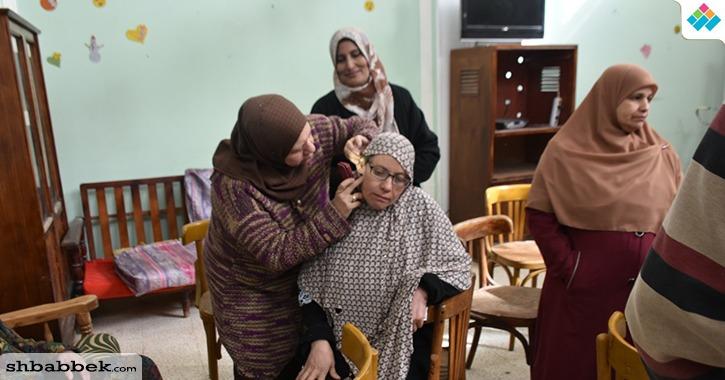 بالصور.. جامعة السادات تنظم قافلة طبية مجانية لدار مسنين المدينة