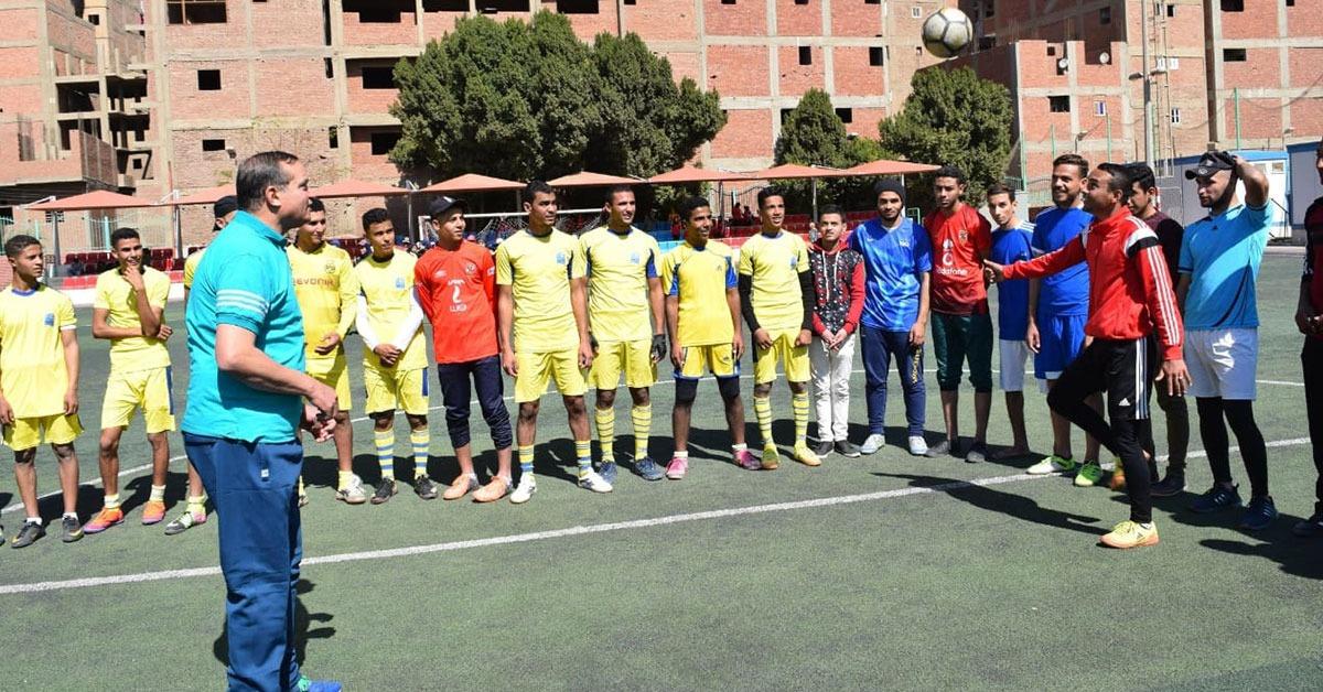 جامعة سوهاج تنظم يوما رياضيا للطلاب (صور)