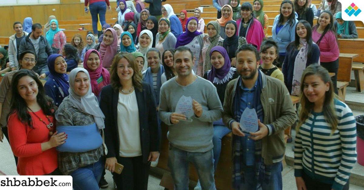 في الإخراج والتصوير.. ورشة تدريبية لطلاب إعلام شمس (صور)