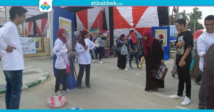 فيديو| «نط الحبل وبولينج».. مسابقات جوالة القاهرة للطلاب الجدد