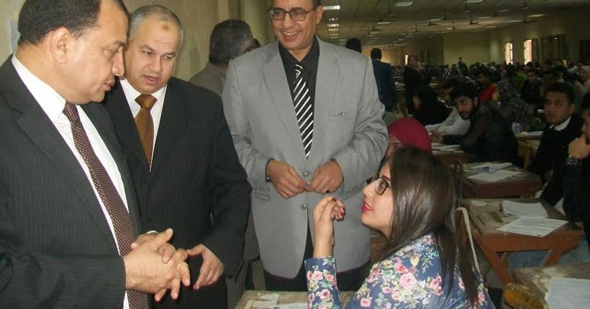 ضبط 403 حالة غش في امتحانات جامعة بني سويف