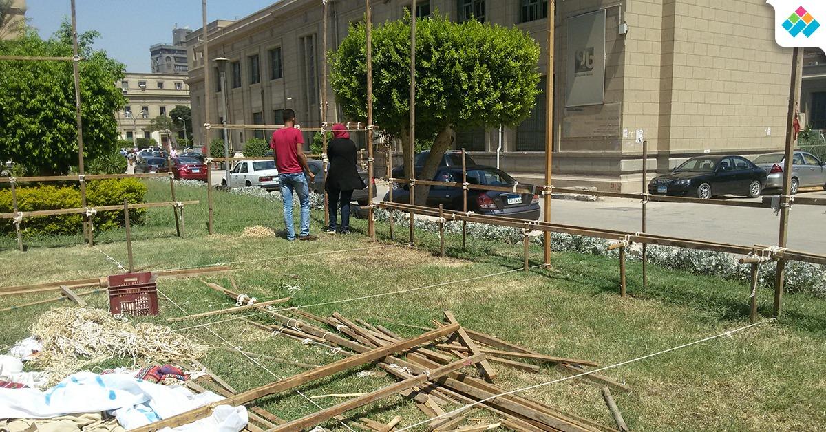 كيف استعد طلاب جامعة القاهرة لبدء الأنشطة في العام الجديد؟ (صور)